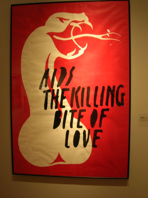 AIDS the killing bite of love